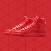 nike blazer mid metric university red f