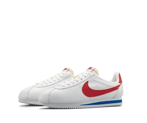 nike cortez reissue rerelease white red blue classic leather f