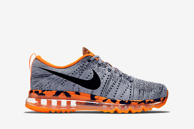 new style 7da53 2ed4e nike flyknit air max bengals side