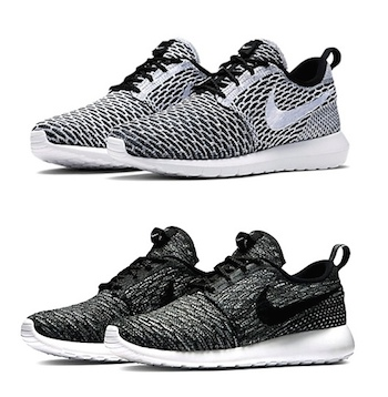 meet e7b07 10db0 NIKE ROSHE RUN FLYKNIT