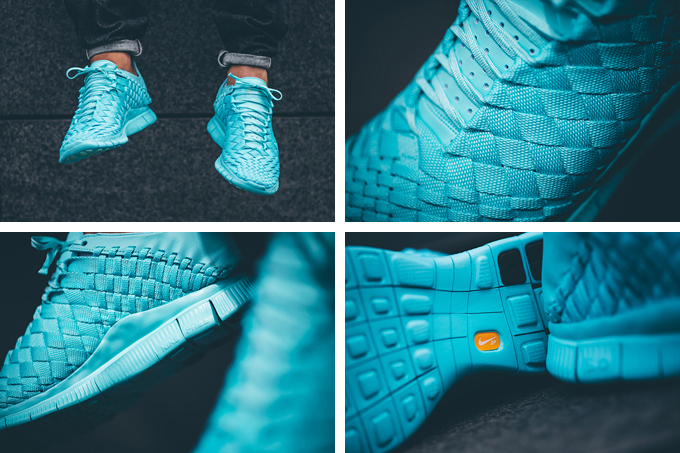 nike free innova woven tech sp light aqua