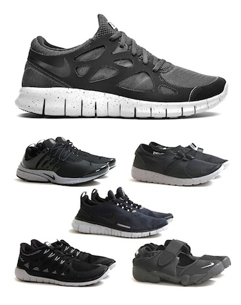 6ff1d72f61f5 NIKE GENEALOGY OF FREE - BLACK PACK - 31.7.14