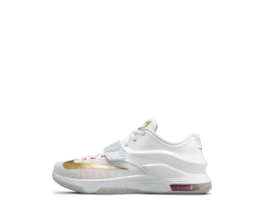 nike kd7 vii kd aunt pearl white pink pow metallic gold pure platinum angel 706858-176 f