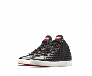 nike lebron 12 nsw lifestyle black challenge red f