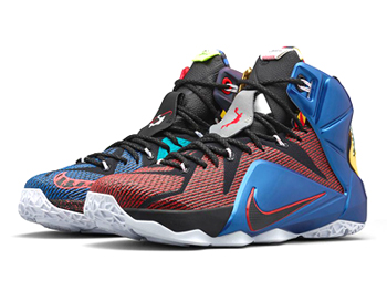 nike lebron 12 what the Multi-Colour Phantom Metallic Cacao 802193-909 p