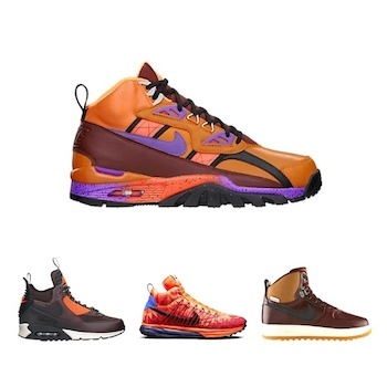 nike mens sneakerboot collection aw14