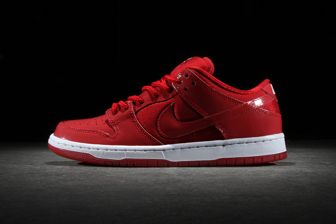 get new on sale lowest price NIKE SB DUNK LOW PRO VARSITY RED - The Drop Date