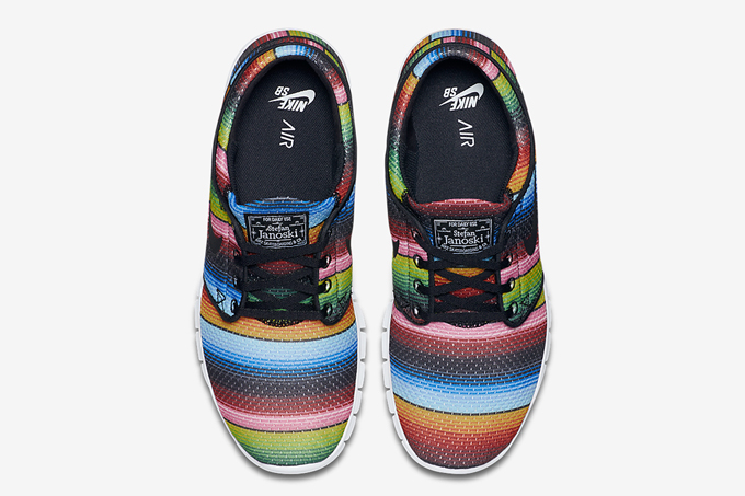 detailed look 70d9b 14c68 nike sb stefan janoski max mexican blanket 2
