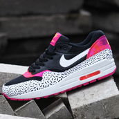 nike air max 1 print wmns dash & dot f