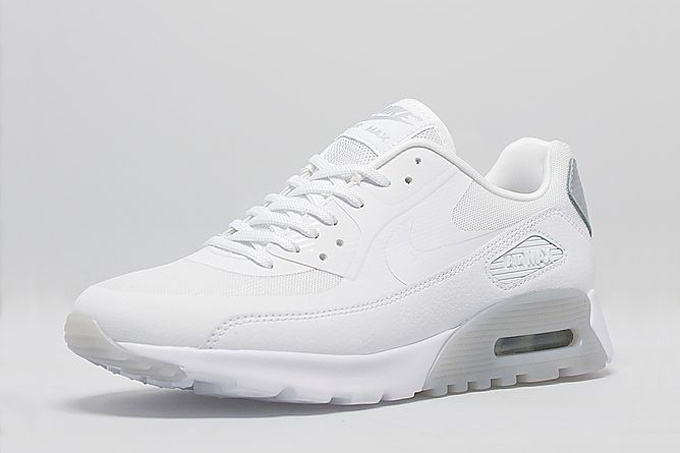 official photos c5044 05d8f ... italy nike wmns air max 90 ultra white and wolf grey 3a718 d27f2