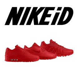 nikeid all-red pack f