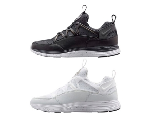nikelab lunar huarache light black white f