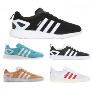 uk availability bff0c f318a palace skateboards x adidas originals pro boost black white blue orange  white red f