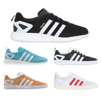 uk availability e182a 05c42 palace skateboards x adidas originals pro boost black white blue orange  white red f