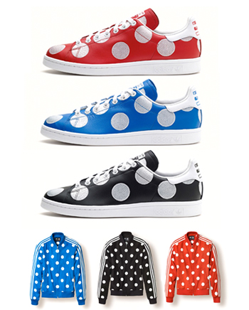 ADIDAS ORIGINALS X PHARRELL WILLIAMS - BIG POLKA DOT PACK - 17 JAN 2015 946286bc3aff