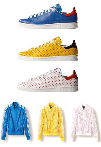1ee3eb31446 ADIDAS ORIGINALS X PHARRELL WILLIAMS - STAN SMITH POLKA DOT PACK - AVAILABLE  NOW
