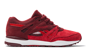 reebok classic x livestock canada maple leaf ventilator red rush black white p