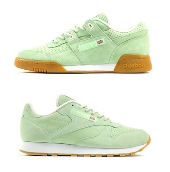 reebok size pastels pack seaglass workout plus classic leather cl p