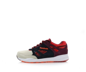 reebok x titolo ventilator 25th anniversary desert dawn stucco red rush burgundy p