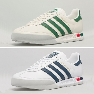 size exclusive adidas kegler super white green blue f
