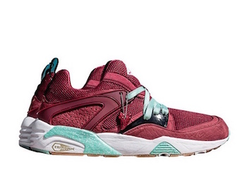sneaker freaker x puma blaze of glory bloodbath side