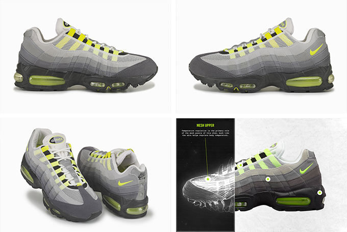 2a4bce554ff2 The anatomy of Air - The NIKE Air Max 95 celebrates 20 years - The ...