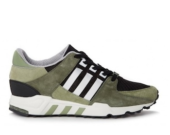 the drop date adidas originals eqt support runnning 93 green p