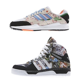 the drop date adidas originals x topshop tech super attitude hi p
