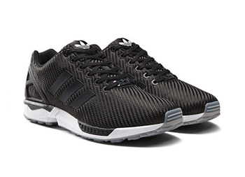 the drop date adidas zx flux woven ballistic winter black grey navy p3