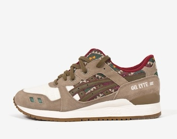 the drop date asics gel lyte III aztec p
