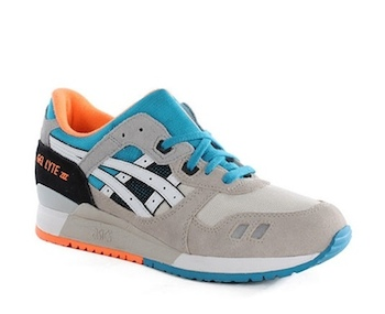 the drop date asics gel lyte iii grey turquoise  copy
