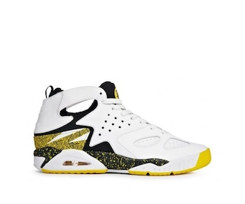 the drop date ct nike air tech challenge huarache white yellow black