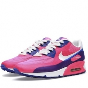 Femmes Nike Air Max 90 Hyperfuse - Nike Air Max 90 Hyperfuse Premium Rose Nikes Réduction Usine