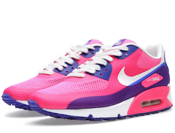 62dbb70292d2 NIKE AIR MAX 90 HYPERFUSE PREMIUM WOMENS 454460-100