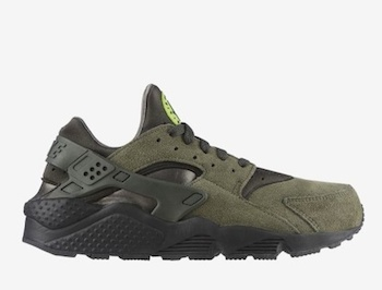 the drop date nike air huarache le green copy 3