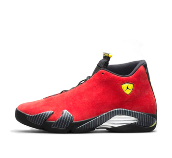 the drop date nike air jordan 14 red challenge vibrant yellow anthracite black 654459-670 p
