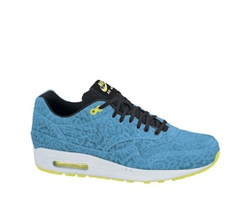 sports shoes 30ef3 75e81 NIKE AIR MAX 1 FB BLUE LEOPARD