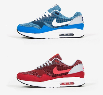new product 81d6e 49d2a NIKE AIR MAX 1 JACQUARD - NEW COLOURWAYS