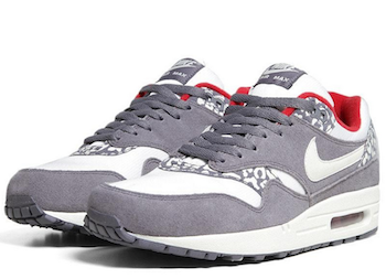 nike air max white grey snow leopard