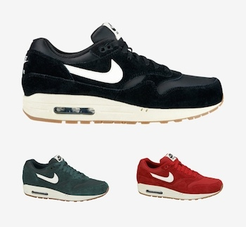 the drop date nike air max 1 suede pack p