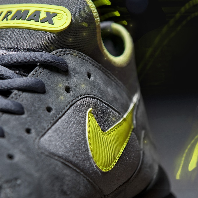 NIKE AIR MAX 93  VOLT  SIZE  WORLDWIDE EXCLUSIVE 8.11.13 7b486a07aa23