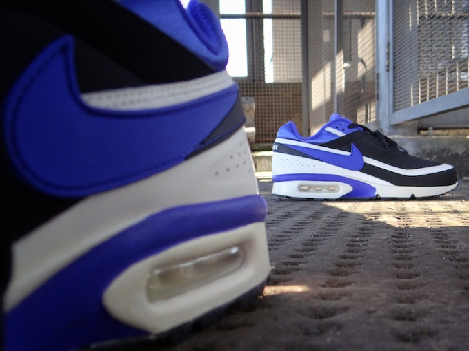 more photos 7f3f9 2089f Chaussures Nike Air Max BW OG Persian Violet vue arrière ... air max  classic bw persian