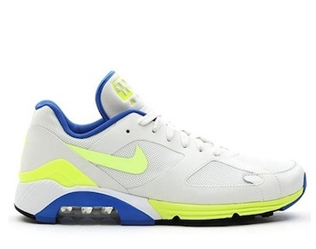 13affa9c7f51 NIKE AIR MAX TERRA 180 QS. Summit White   Hot Lime   Blue Sapphire -  626500 -134