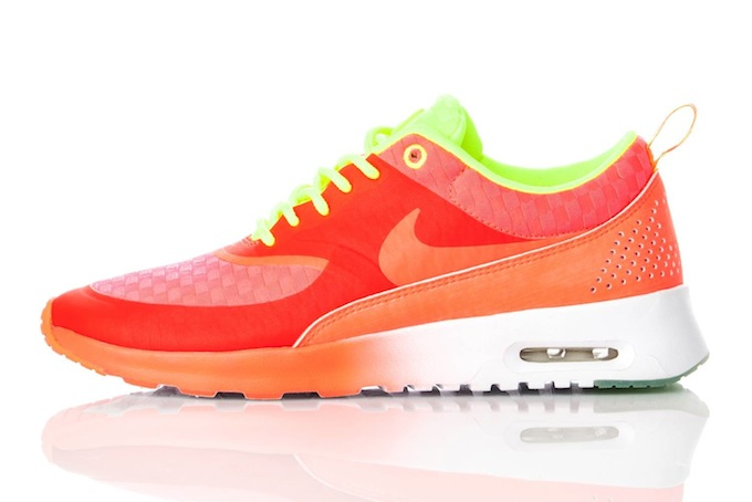 nike air max thea woven glow in the dark pack womens - nike air max thea womens yellow orange