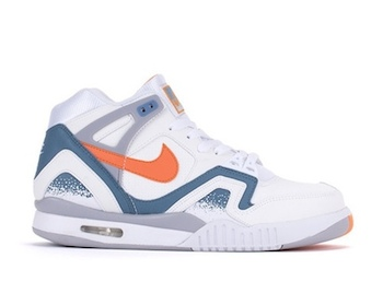 the drop date nike air tech challenge II clay blue p