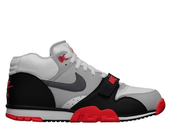 new product 6464c e684d NIKE AIR TRAINER 1 MID PRM QS INFRARED