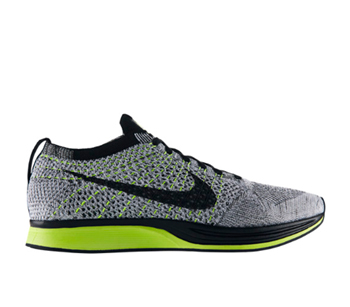 the drop date nike flyknit racer black white volt oreo 526628-007 p