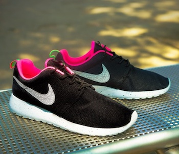 NIKE X SIZE ROSHE RUN BLACK URBAN SAFARI 14.6.13,PMYTVKY217,