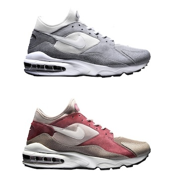 the drop date nike x size air max 93 metals burnt red grey p 5cc02b14a