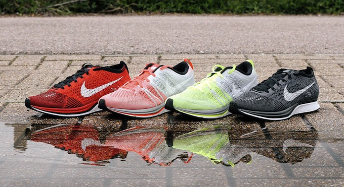 NIKE FLYKNIT RACER AND TRAINER+